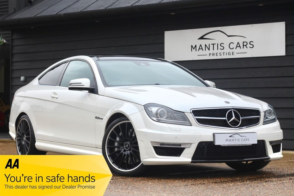 USED 2013 63 MERCEDES-BENZ C CLASS 6.2 C63 AMG 2d 457 BHP BUY NOW | DON'T PAY UNTIL 2020