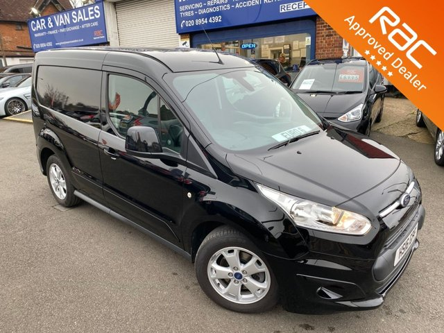 2016 16 FORD TRANSIT CONNECT 1.5 200 LIMITED P/V 118 BHP