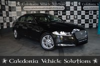 USED 2013 13 JAGUAR XF 2.2 D SE 4d 163 BHP BEAUTIFUL EXAMPLE IN ULTIMATE BLACK WITH BARLEY TRIM. FULL JAGUAR SERVICE HISTORY WITH LAST SERVICE @ 52,251
