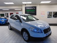 USED 2014 64 SUZUKI SX4 S-CROSS 1.6 SZ3 5d 118 BHP FULL SERVICE HISTORY + SEPTEMBER 2020 MOT + BLUETOOTH + CD/RADIO/MP3 + ALLOYS + CRUISE CONTROL + AIR CONDITIONING + ELECTRIC WINDOWS + REMOTE CENTRAL LOCKING + PRIVACY GLASS + ABS