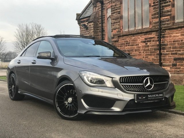 2015 11 MERCEDES-BENZ CLA 2.1 CLA220 CDI AMG SPORT 4d 170 BHP [NIGHT PACK]