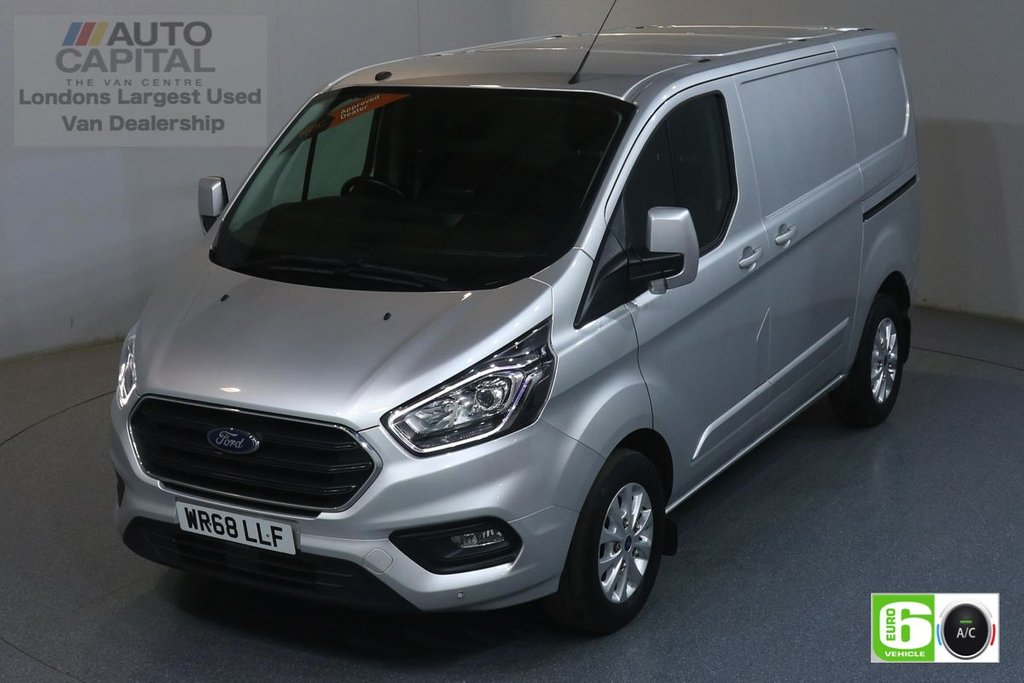 USED 2018 68 FORD TRANSIT CUSTOM 2.0 300 LIMITED L1 H1 129 BHP EURO 6 ENGINE AIR CON, PARKING SENSORS, ALLOY WHEEL, HEATED FRONT SEATS