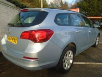 USED 2014 64 VAUXHALL ASTRA 1.4 DESIGN 5d 100 BHP GUARANTEED TO BEAT ANY 'WE BUY ANY CAR' VALUATION ON YOUR PART EXCHANGE
