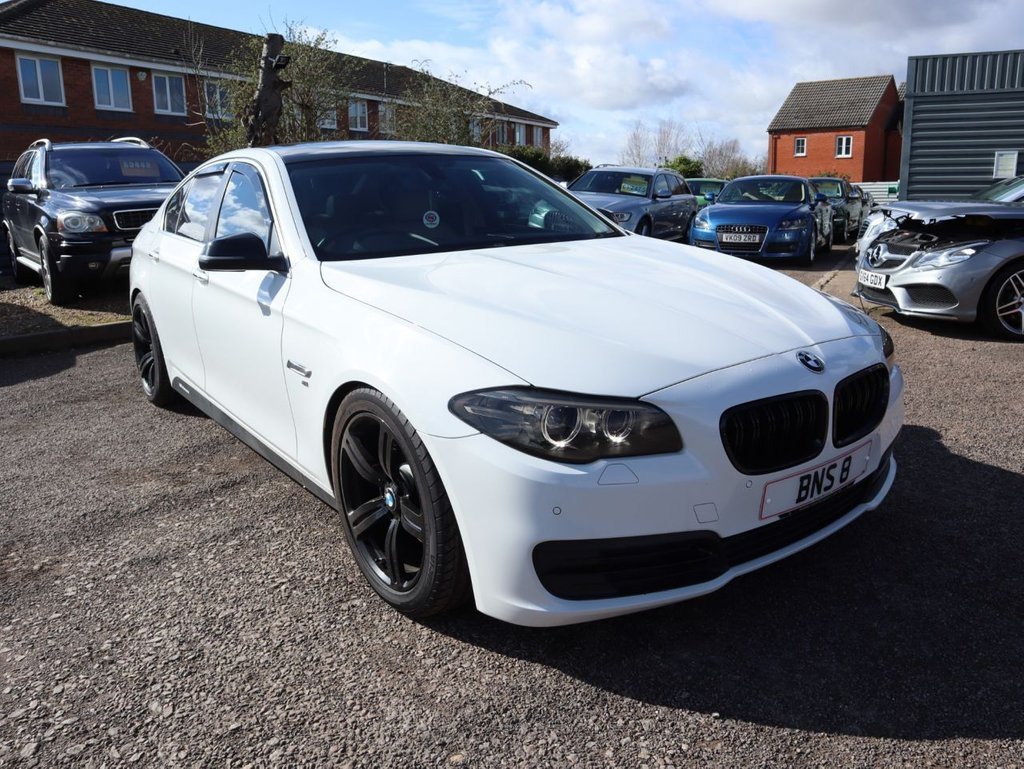 USED 2014 64 BMW 5 SERIES 2.0 518D SE 4d 148 BHP DEALERSHIP SERVICE HISTORY A STUNNING LOOKING CAR