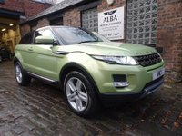 2012 LAND ROVER RANGE ROVER EVOQUE 2.2 SD4 PURE TECH 3d 190 BHP £15995.00