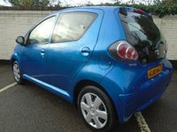 USED 2010 10 TOYOTA AYGO 1.0 BLUE VVT-I 5d 67 BHP GUARANTEED TO BEAT ANY 'WE BUY ANY CAR' VALUATION ON YOUR PART EXCHANGE