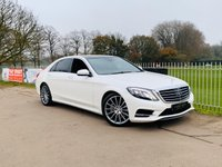 USED 2016 16 MERCEDES-BENZ S CLASS 3.0 S 350 D L AMG LINE EXECUTIVE 4d 255 BHP Full Mercedes Service History! 1 Owner + Ex Demo! Very High Spec!