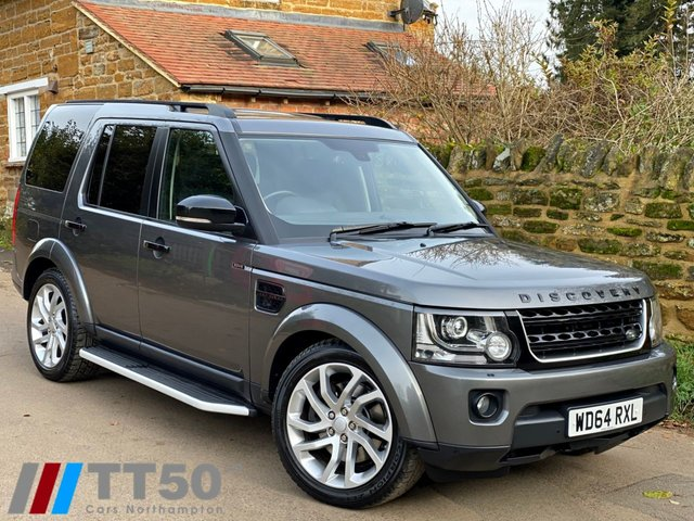 2014 64 LAND ROVER DISCOVERY 3.0 SDV6 HSE LUXURY 5d 255 BHP