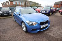 USED 2014 64 BMW 1 SERIES 1.6 116I M SPORT 3d 135 BHP £1165 FACTORY FITTED OPTIONAL EXTRAS