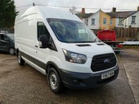 USED 2018 67 FORD TRANSIT 350 L3 H3 LWB High roof 130 PS *EURO 6*NO ULEZ CHARGE* EURO 6 MODEL - LOW MILES - SERVICE HISTORY