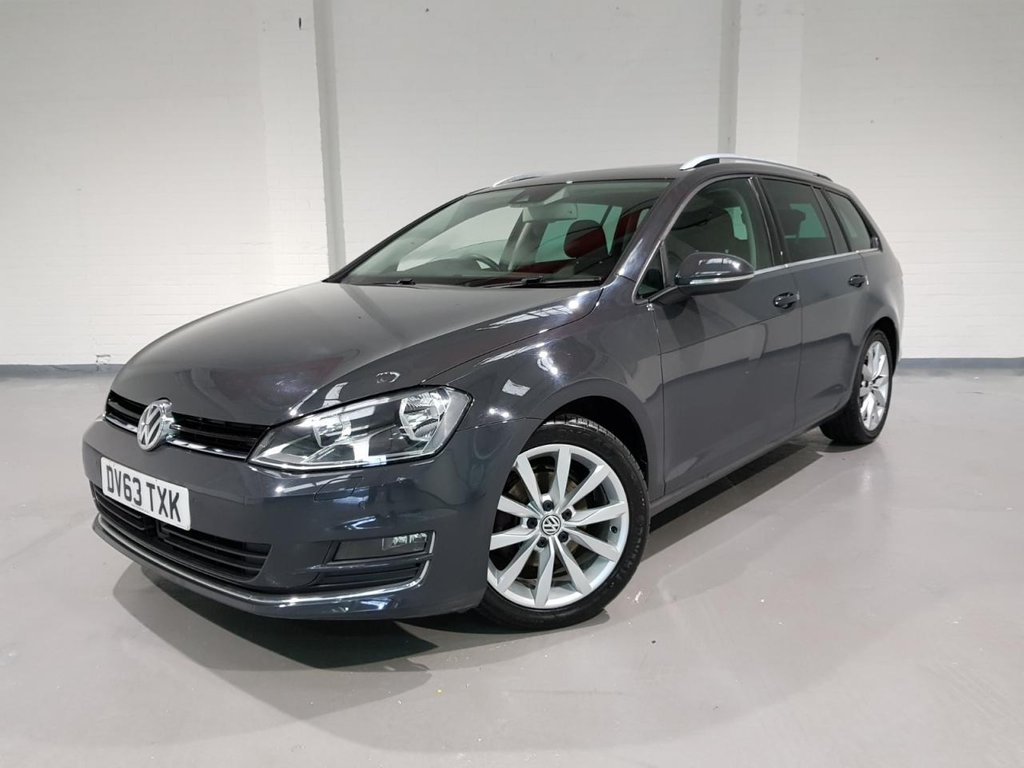 USED 2013 63 VOLKSWAGEN GOLF 2.0 GT TDI BLUEMOTION TECHNOLOGY 5d 148 BHP