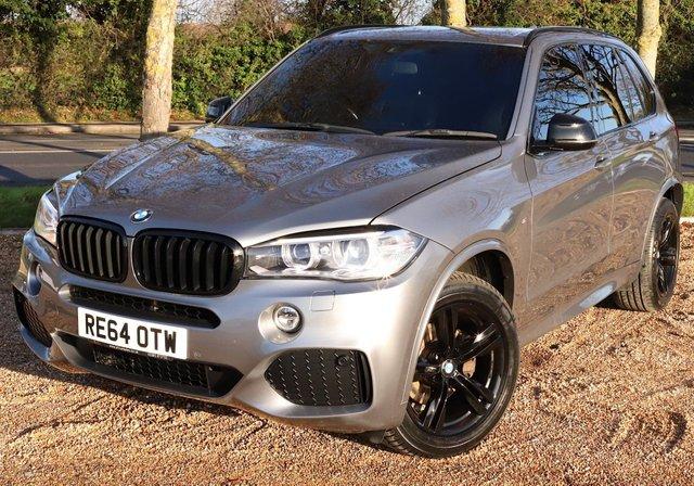 2015 64 BMW X5 3.0 XDRIVE30D M SPORT 5d 255 BHP/ SAT NAV/ HEATED SEATS/ PARKING SENSORS/ XENONS/ MEMORY &ELECTRIC SEATS/