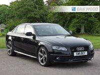 2011 AUDI A4 2.0 TDI QUATTRO BLACK EDITION 4d 168 BHP £7995.00