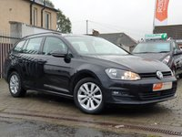 USED 2014 64 VOLKSWAGEN GOLF 1.6 SE TDI BLUEMOTION TECHNOLOGY 5d 103 BHP PLEASE CALL IF YOU DONT SEE WHAT YOUR LOOKING FOR AND WE WILL CHECK OUR OTHER BRANCHES.  WE HAVE  OVER 100 CARS IN DEALER STOCK