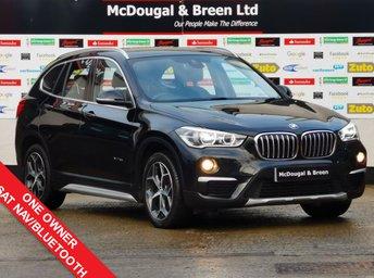2016 BMW X1 2.0 XDRIVE18D XLINE 5d 148 BHP £15499.00
