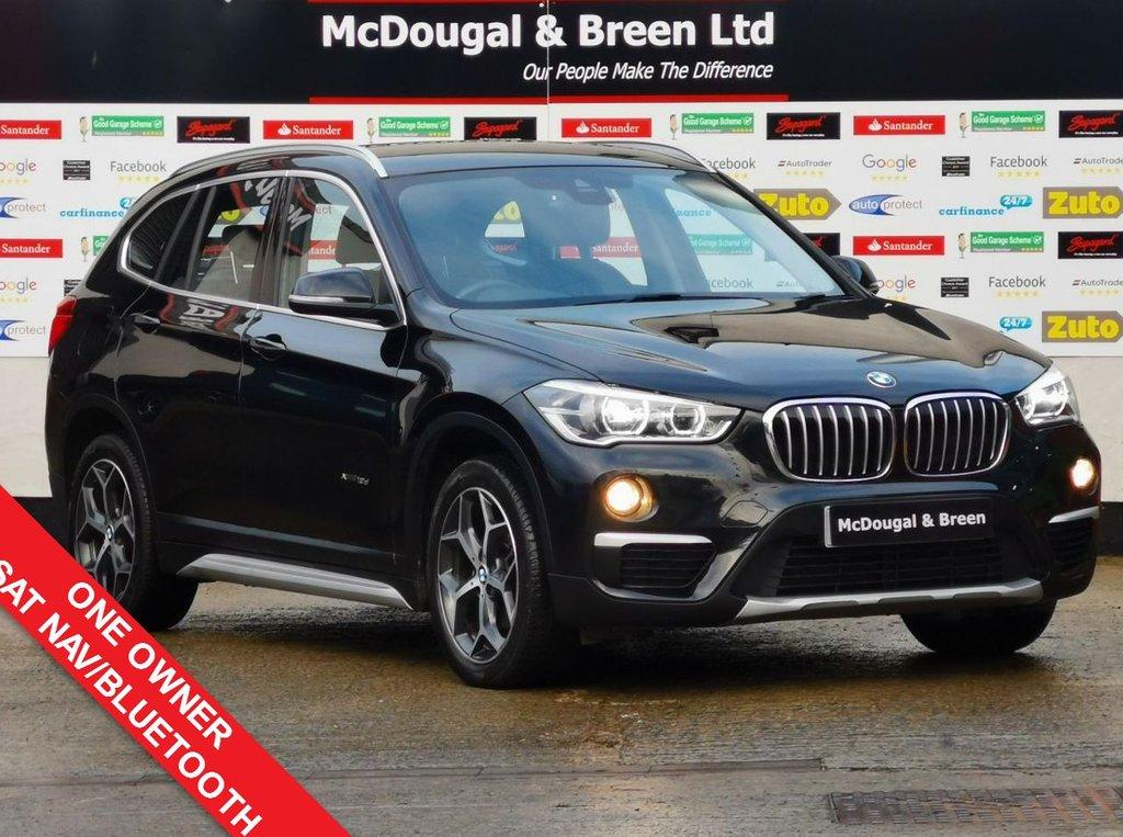 USED 2016 66 BMW X1 2.0 XDRIVE18D XLINE 5d 148 BHP