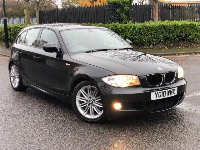 2010 10 BMW 1 SERIES 2.0 118D M SPORT 5d 141 BHP
