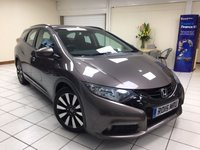 2015 HONDA CIVIC 1.8 I-VTEC SE PLUS TOURER 5d 140 BHP £9995.00