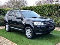 USED 2012 62 LAND ROVER FREELANDER 2.2 TD4 XS 5d 150 BHP A Totally Original and Well Cared for Example of this Much Loved Mid Sized SUV with a Detailed and Documented Full Service History, Black Leather / Alcantara Heated Electric Seats, HDD Satellite Navigation + Alpine Premium Sound + DAB Radio, Leather Multi Function Steering Wheel, Cruise Control, Front and Rear Park Distance Control, Dual Zone Climate Control, 19 Inch Alloy Wheels, Towbat + Electrics, Hill Descent Control, Automatic Headlights + Power Wash, Heated Electric Powerfold Mirrors