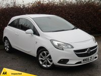 USED 2016 66 VAUXHALL CORSA 1.4 ENERGY AC ECOFLEX 3d * ONE OWNER FROM NEW * BLUETOOTH *
