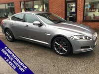 """USED 2014 64 JAGUAR XF 3.0 D V6 LUXURY 4DOOR 240 BHP DAB Radio     :     Satellite Navigation     :     USB & AUX Sockets     :     Cruise Control          Phone Bluetooth Connectivity   :   Climate Control / Air Conditioning   :   Electric Front Seats        Full Beige Leather Upholstery   :   Rear Parking Sensors   :   19"""" Alloy Wheels   :   2 Keys        Comprehensive Service History"""