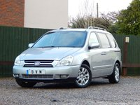 USED 2008 58 KIA SEDONA 2.9 TS 5d 183 BHP LONG MOT, 7 SEATS
