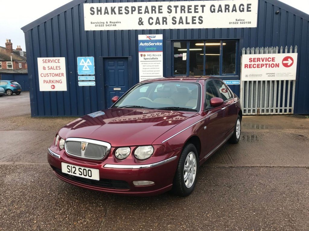USED 2002 S ROVER 75 1.8 CLASSIC SE 4d 118 BHP