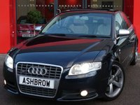USED 2007 56 AUDI S4 4.2 QUATTRO 4d AUTO 344 BHP  FULL SERVICE HISTORY, UPGRADE DVD BASED SAT NAV, UPGRADE ELECTRIC SLIDE & TILT SUNROOF, UPGRADE HEATED FRONT SEATS, UPGRADE BOSE SOUND SYSTEM, UPGRADE FRONT & REAR ACOUSTIC PARKING SENSORS, UPGRADE LEATHER 3 SPOKE SPORT TIPTRONIC MULTIFUNCTION STEERING WHEEL (PADDLE SHIFT), UPGRADE 6 CD AUTO CHANGER, UPGRADE SILK NAPPA LEATHER, UPGRADE AUTO DIMMING REAR VIEW MIRROR, UPGRADE ELECTRIC FRONT SEATS WITH DRIVER MEMORY, UPGRADE COMMUNICATION PACK, UPGRADE VOICE CONTROL SYSTEM, XENONS, CRUISE, RECAROS