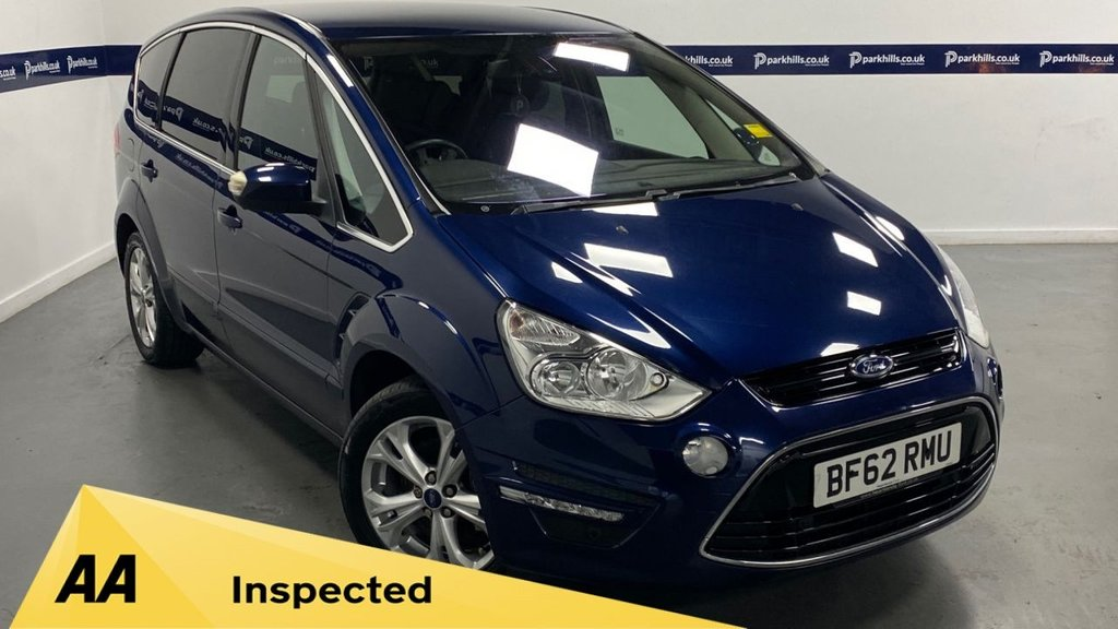 USED 2012 62 FORD S-MAX 1.6 TITANIUM TDCI S/S 5d 115 BHP (7 STAMP SEARVICE HISTORY)