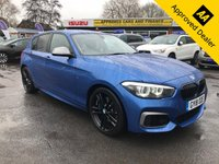 2018 BMW 1 SERIES 3.0 M140I SHADOW EDITION 5d 335 BHP IN METALLIC BLUE WIITH ONLY 5000 MILES AMAZING SPEC NOT A VEHICLE TO BE MISSED WITH A FULL SERVICE HISTORY! £24499.00