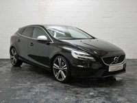 USED 2016 16 VOLVO V40 2.0 D4 R-DESIGN PRO 5d 188 BHP FULL LEATHER + 4 VOLVO SERVICES + 1 OWNER + SAT NAV