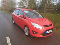 USED 2013 62 FORD GRAND C-MAX 1.6 TITANIUM TDCI 5d 114 BHP **NEW MOT**FULL SERVICE HISTORY**LOTS OF FEATURES**