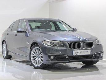 2016 BMW 5 SERIES 2.0 520D LUXURY 4d 188 BHP £16990.00