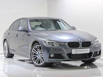 2016 BMW 3 SERIES 2.0 320D M SPORT 4d 188 BHP £16490.00