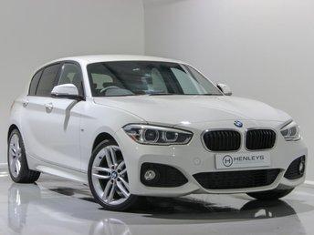 2016 BMW 1 SERIES 2.0 118D M SPORT 5d 147 BHP £12890.00