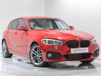 2016 BMW 1 SERIES 2.0 118D M SPORT 5d 147 BHP £12990.00