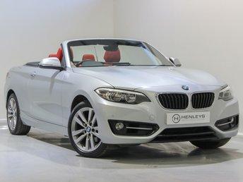 2016 BMW 2 SERIES 1.5 218I SPORT 2d 134 BHP £14990.00