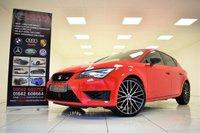USED 2016 66 SEAT LEON 2.0 TSI CUPRA BLACK 290 BHP 5 DOOR