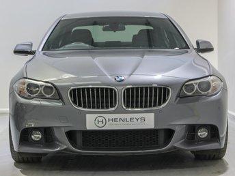 2016 BMW 5 SERIES 2.0 520D M SPORT 4d 188 BHP £15990.00