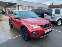 USED 2017 67 LAND ROVER DISCOVERY SPORT 2.0 TD4 HSE BLACK 5d 180 BHP