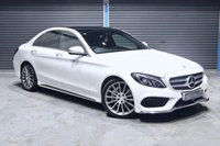 2016 MERCEDES-BENZ C CLASS C250 D AMG LINE PREMIUM ** HEATED RED LEATHER ** £19975.00