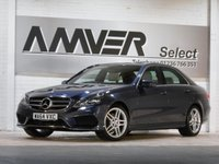 USED 2014 64 MERCEDES-BENZ E CLASS 2.1 E220 CDI AMG SPORT 4d 168 BHP