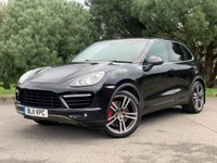 """USED 2011 11 PORSCHE CAYENNE 4.8 V8 TURBO TIPTRONIC S 5d 500 BHP STUNNING IMMACULATE TURBO CAYENNE WITH FSH 21"""" TURBO II ALLOYS"""