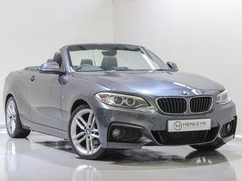 2015 BMW 2 SERIES 2.0 220D M SPORT 2d 188 BHP £12990.00