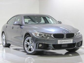 2017 BMW 4 SERIES GRAN COUPE 3.0 430D XDRIVE M SPORT GRAN COUPE 4d 255 BHP £19990.00