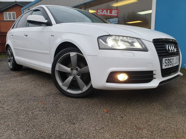 USED 2011 60 AUDI A3 2.0 SPORTBACK TDI S LINE SPECIAL EDITION 5d 138 BHP