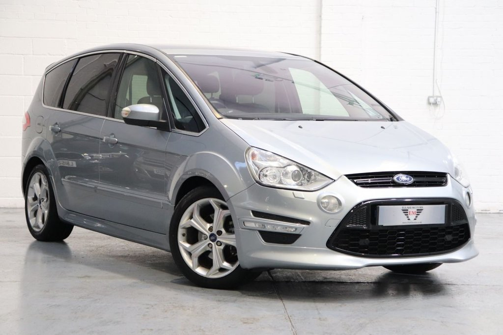USED 2014 63 FORD S-MAX 2.2 TITANIUM X SPORT TDCI 5d 197 BHP Panoramic Roof + Satnav +Reversing Camera + Cruise + Parking Aid + Dab
