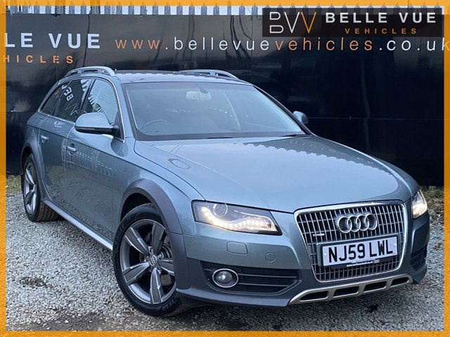 USED 2009 59 AUDI A4 ALLROAD 2.0 ALLROAD TFSI QUATTRO 5d 208 BHP *1 FORMER KEEPER, XENON LIGHTS, SAT NAV, CRUISE CONTROL!*