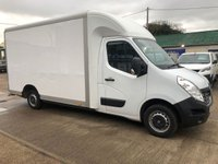 USED 2015 15 RENAULT MASTER 2.3 LL35 BUSINESS DCI LO LOADER LUTON 125 BHP