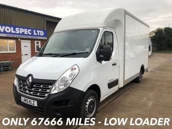 2015 RENAULT MASTER 2.3 LL35 BUSINESS DCI LO LOADER LUTON 125 BHP £8750.00
